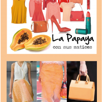 La papaya con sus matices