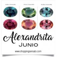 Alexandrita para el Mes de Junio